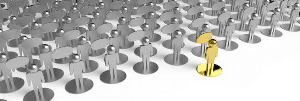 leadership as concept 3d people